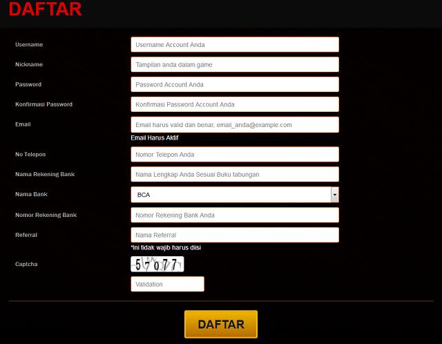 Cara Mendaftar Di Bandar Poker Online Uang Asli Terpercaya