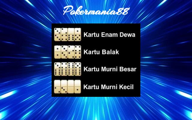 Urutan Kartu Tertinggi Pada Permainan Judi Domino Qiu Qiu